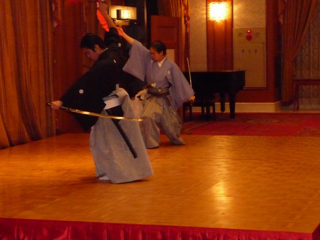日本文化、サムライ文化を目で見て、わかりやすく味わえます。