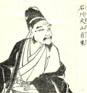 石川丈山像(『先哲像伝』より)